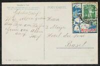 s2053) Schweiz Kochermarke Histosan Davos 1909