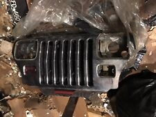 1987-1995 Jeep Wrangler YJ Factory FRONT GRILLE Chrome Red Radiator Included