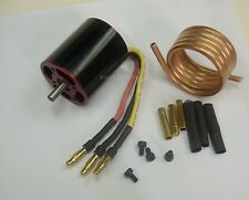 KMBL36K31B: 1 set B3640 BL Motor KV3150 S5mm w/Bass Cooling Coil for RC Boat