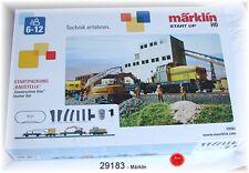 """Märklin 29183 Coffret de départ """" chantier """" avec une locomotive diesel DHG 500"""