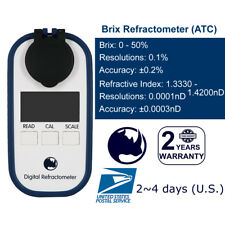0-50% Brix ( Maple syrup, Jam, Sauces, Juice Concentrates ) Refractometer | IP65