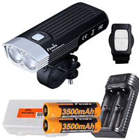 Fenix BC30 v2 2200 Lm Bike Light, Wireless Remote, 2x Battery, and Charger