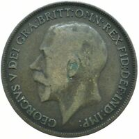 1919 ONE PENNY OF GEORGE V.     #WT18618