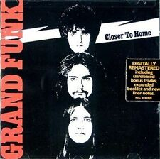 GRAND FUNK RAILROAD Closer To Home CD BRAND NEW Bonus Tracks Remastered