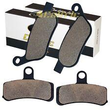 FRONT REAR BRAKE PADS FIT HARLEY DAVIDSON FXD FXDC DYNA SUPER GLIDE 2008-2014