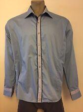 ETZO Slim Fit Mens Long Sleeves Shirt Size 3XL 47-48