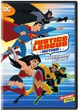 Justice League: Action Season 1 Part 2 [New DVD] Amaray Case