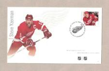 Steve Yzerman Detroit Red Wings 2016 NHL Canada Post First Day Stamp Cover