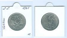 Vatican 2 Lires 1941 pièce de monnaie