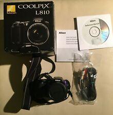 Nikon COOLPIX L810 16.1MP 26x Zoom Digital Camera, 3