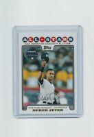 2008 Topps Update Derek Jeter Baseball Card #UH52 New York Yankees