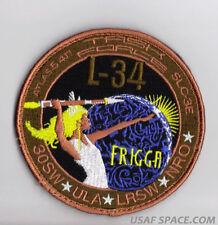 NROL- 34  FRIGGA  ATLAS V USAF VAFB ORIGINAL Classified SATELLITE Launch PATCH
