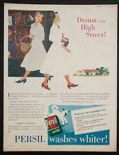 PERSIL - Vintage Colour Magazine Advert - Laundry Detergent - 15 Sept 1951 *