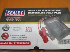 Sealey E/START 800 Batteryless Jump pack