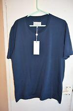 Bnwt Men's Maison Martin Margiela navy blue Tshirt Size UK XXL ( 54)