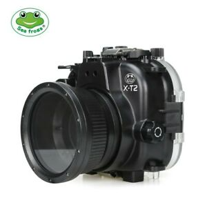 Seafrogs 40m/130ft Underwater Camera Housing For Fujifilm X-T2 16-50/18-55mm