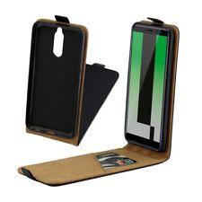 étui à Clapet Premium Noir pour HUAWEI MAT 10 Lite Housse de protection