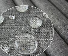 Polyester PU Wasserabweis Stoff Gewebe | Oxford 300D | Leinen Look