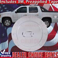2007 2014 Chevy Suburban Tahoe Gmc Yukon Chrome Gas Door Cover Fuel Cap Overlay Fits 2007 Chevrolet Suburban 1500