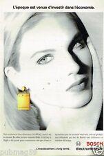 Publicité advertising 1993 Electroménager Lave vaisselle Bosch