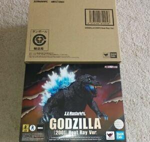 Authentic Bandai S.H. MonsterArts Godzilla GMK 2001 Heat Ray Version Figure NEW