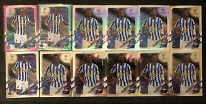 2020-21  Porto Lot-Malang Sarr /175, /199, Romario Baro Refractor&Base(15 Cards)