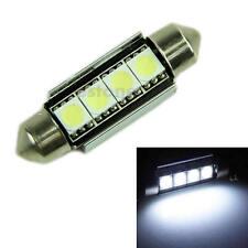 Super Bright White 39MM 4 5050 Canbus Error Free Festoon Dome LED Light Bulb NEW