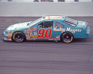 1994 Heilig Meyers MIKE WALLACE 8x10 Photo Darlington Speedway Print Poster