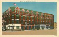 Postcard Hotel Cortland, Cortland, NY