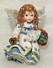 Merry Christmas Vintage Enesco 1996 Victorian Harmony Claudia Stenvig-Olsen