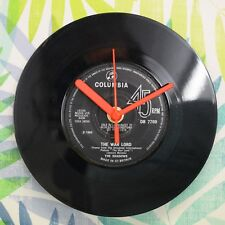"The Shadows 'The War Lord' Retro Chic 7"" Vinyl Record Wall Clock"