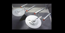 1 STAR-TREK-U-S-S-ENTERPRISE-NCC-1701-ELECTRONIC-LIGHTS-amp-SOUNDS- with STAND*