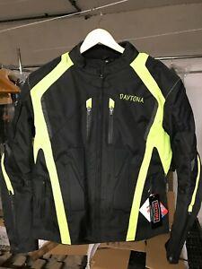 Motorradjacke mit Protektoren Herren Textil Motorrad Jacke Roller Textil Jacke M