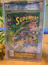 Superman The Man of Steel 17 CGC 9.8