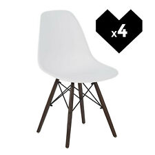 Dining Chair White - Pack of 4. Free Delivery to Ireland & UK.
