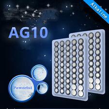 500 piece AG10 LR1130 G10 LR54 189 Battery 1.5V Bulk Alkaline for remote