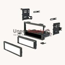 Buick Cadillac Chevrolet Single Din Stereo Radio Install Dash Kit Stereo