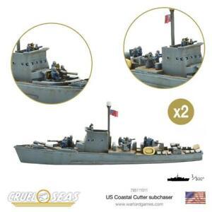 US COASTAL CUTTER SUBCHASER - CRUEL SEAS - WARLORD GAMES