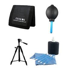 """Tripod Starter Kit DSLR SLR Camera Blower 60"""" Tripod Lens Cleaning Kit Wallet"""