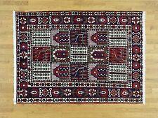 "5'2""x7' Semi Antique Persian Bakhtiari Mint Cond Handknotted Carpet G32265"