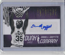 Darrell Griffith 2012-13 Intrigue*Dunk Company Autograph* NBA #87/199