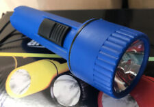 Lot of 2 Flashlights -  Hand Held Battery Operated - Emergency Light