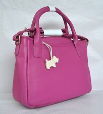 "Radley ""Downing"" Medium Pink Leather Multiway Bag BNWT RRP £179 New!"