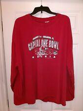 NCAA 2009 Capital One Bowl University Of Georgia Bulldogs Football Shirt Men 3XL