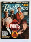 """Radio Times 20-26 November 1993 Doctor Who cover """"Look Who's Back in 3D"""""""