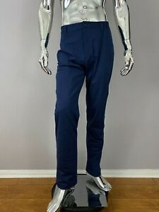 New RHONE NAVY SLIM COMMUTER Pants Size 35