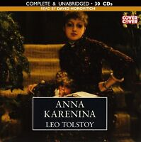 Anna Karenina: by Leo Tolstoy - Unabridged Audiobook - 30CDs