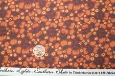 """BORDER BLAST"" CLUB 2011 THIMBLEBERRIES COTTON QUILT FABRIC BTY BY RJR 9010-2"
