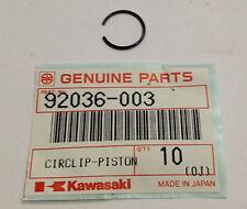 Fermo spinotto pistone -  CIRCLIP PISTON PIN - Kawasaki NOS 92036-003