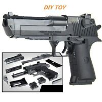 3D Puzzle Gun Model Kits Toy For Kids Boys Gift Educational Building Blocks Game